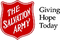 The Salvation Army Logo with Giving Hope Today