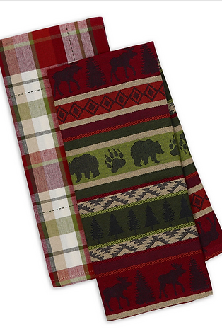 Mountain Woods Dishtowel Set