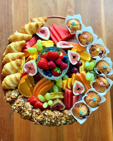 Small Bakery & Fruit Platter