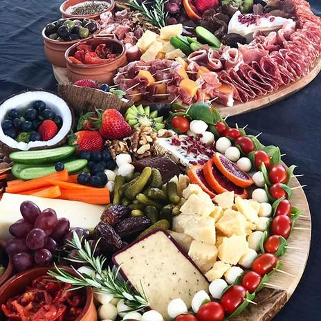 Vegetarian & Meat Antipasto Platters