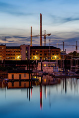 Hafenimpression mit MVV Umwelt