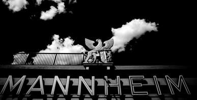mannheim, stadteinfahrt