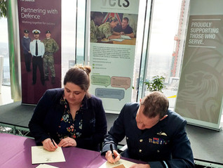 Military veteran and Army wife-turned businesswoman signs Armed Forces Covenant