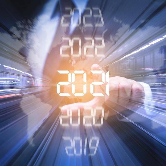 2021 E-Calendar + Social Media Planner