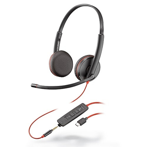 POLY - Blackwire C3225 Headset USB-C