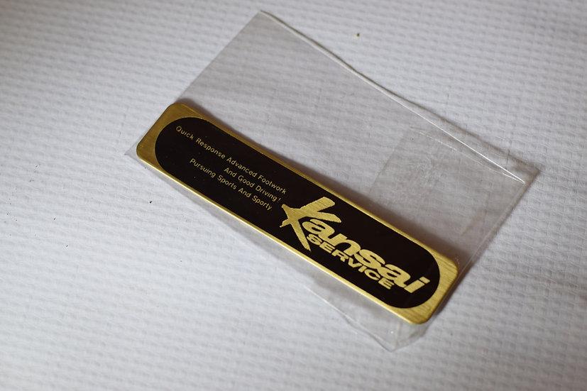 Kansai Service badge