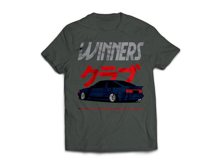 AE86 Winner Club -Dark Grey