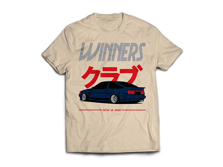 AE86 Winner Club - Tan