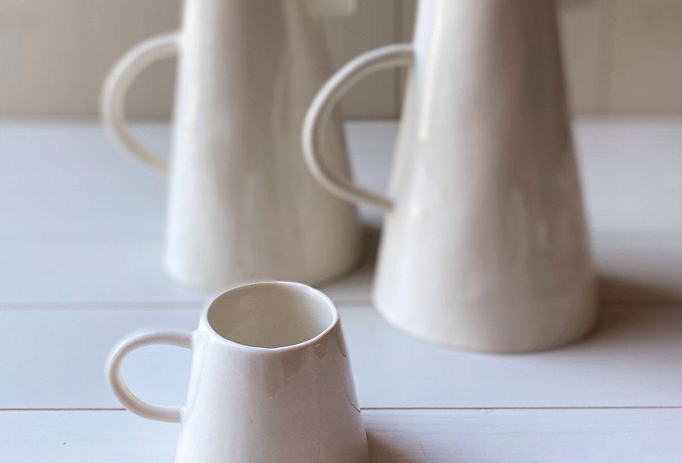La tasse blanche