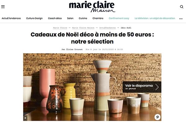 Marie Claire Eloïse Dubois céramique