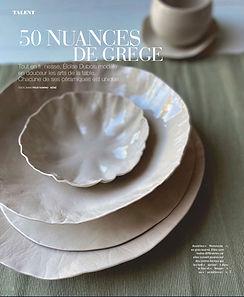 Art et Decoration Eloïse Dubois Ceramique