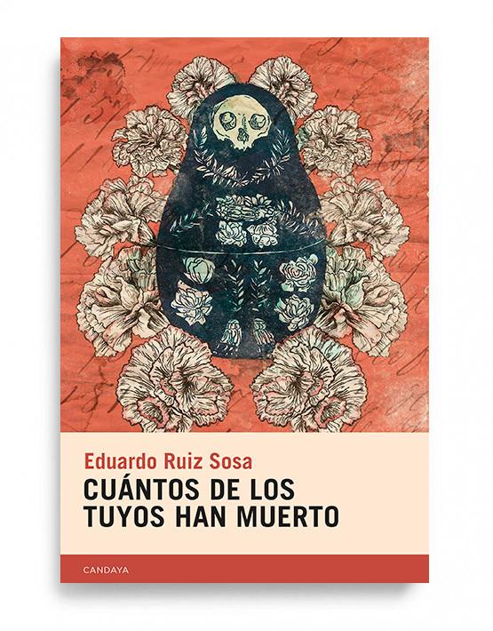 En Cuántos de los tuyos han muerto el escritor mexicano Eduardo Ruiz Sosa se enfrenta al fenómeno de la muerte mirando a los ojos de los sobrevivientes, escuchando a los que quedan en el mundo como testimonio de la ausencia, de esa ausencia ajena que, en buena medida, es nuestra propia ausencia, pues al morir los otros va desapareciendo también lo que fuimos con ellos.  Desde la sospecha de que, como decía el poeta Jordi Villaronga, «La muerte no es la muerte, es un muerto», este libro, más allá del duelo, indaga en lo que la muerte despierta en los vivos. La necesidad de recuperar el cuerpo de los desaparecidos, los secretos que se descubren tras la muerte, el desvanecimiento de un mundo, el regreso a una infancia sin mitos y la exigencia de algunos por borrar toda huella de su existencia, son algunos de los motivos que incendian estos relatos de belleza extraña y conmovedora.