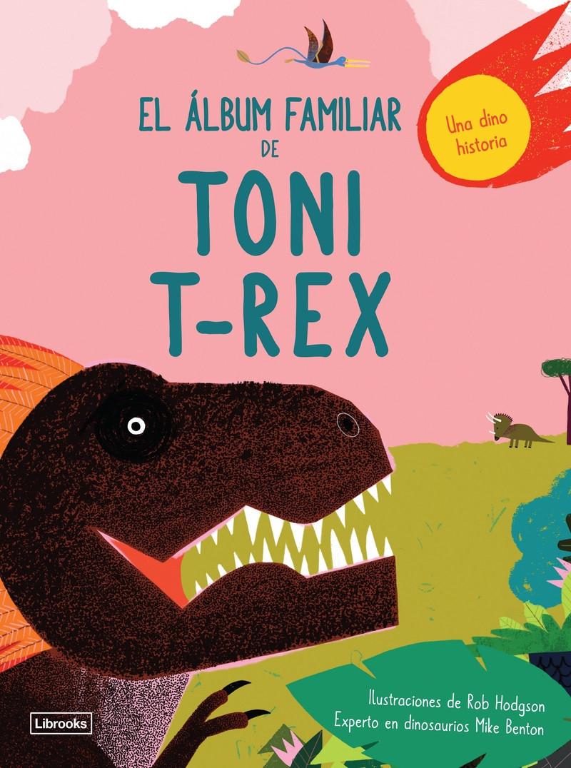 ¡Niñas y niños, acercaos! Por primera vez en la historia tenéis la oportunidad de hojear el álbum familiar de Toni T-Rex, el dinosaurio más famoso de la Tierra. Poned atención mientras Toni recuerda las anécdotas e historias de sus parientes más queridos y cercanos ocurridas hace miles de años. El álbum familiar de Toni T-Rex recoge algunos de los momentos más memorables de su familia de dinosaurios, los recuerdos más preciados, pero también los secretos de familia más inconfesables. Estáis ante una exclusiva y solo aquí encontraréis toda la información salida directamente de la boca de un dinosaurio.