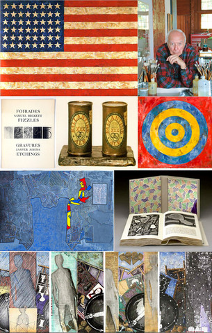 Jasper Johns - 'Something Resembling Truth'