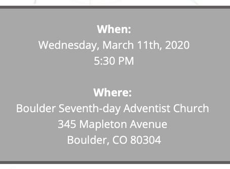 Neighborhood Meeting 03.11.20