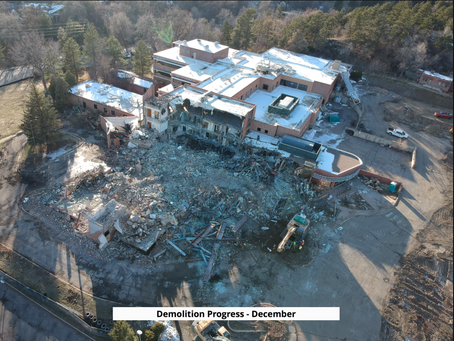 Demolition Progress Update