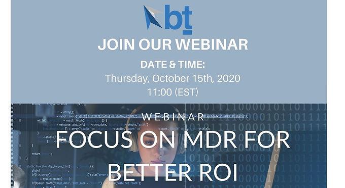 MDR for Better ROI
