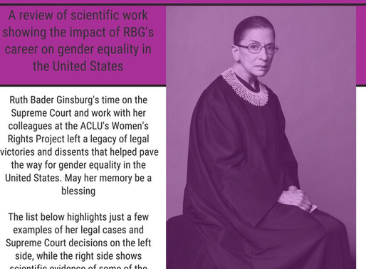 Ruth Bader Ginsburg and Gender Equality