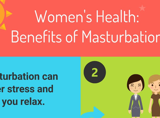 Infographic: Women's Health – Benefits of Masturbation