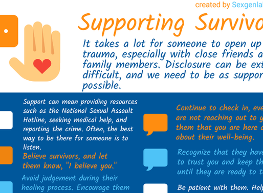 Infographic: Supporting Survivors