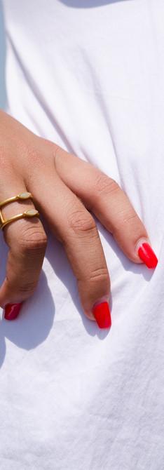 Photo: Lia Joffe Styling: Ofri Kaufman Makeup: Lihi Horovitz Model: Shir Ginzburg