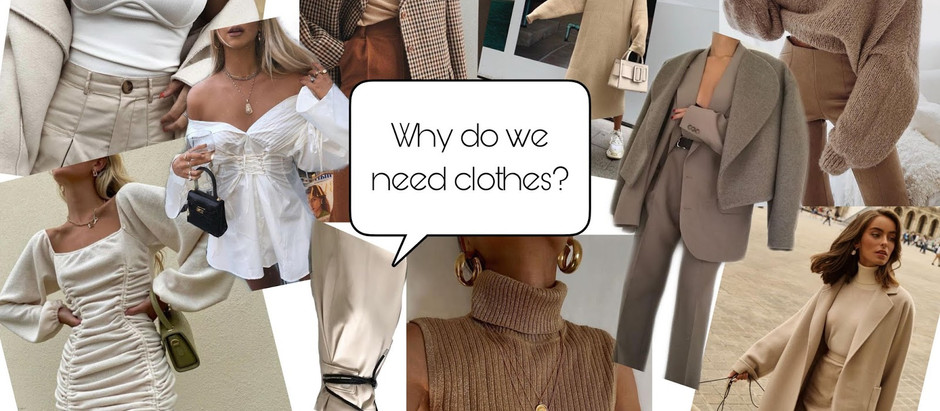 Why Do We Need Clothes?