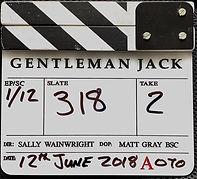 GENTLEMAN JACK 2018 CLAPPER BOARD