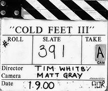 COLD FEET 3 Clapper Board