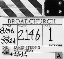 BROADCHURCH S1 Clapper Board