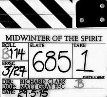 MIDWINTER OF THE SPIRIT 2015 Clapper Board
