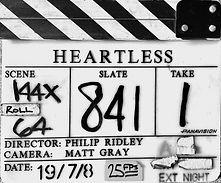 HEARTLESS 2008 Clapper Board