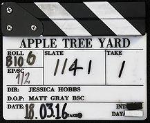 APPLE TREE YARD 2016 CLAPPER BOARD