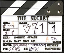 THE SECRET 2014 CLAPPER BOARD
