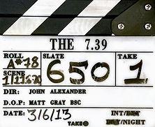 THE 7.39 2013 Clapper Board