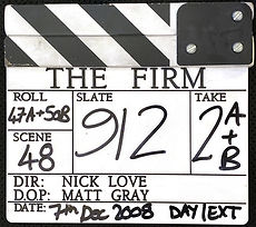 THE FIRM 2008 Clapper Board
