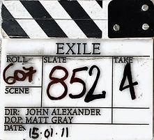 EXILE 2011 Clapper Board