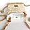 """Thumbnail: Handytasche """"animalprint"""" beige  / gold"""