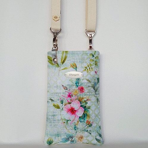Handy-Täschchen tropical  / Hibiskus-Blüte