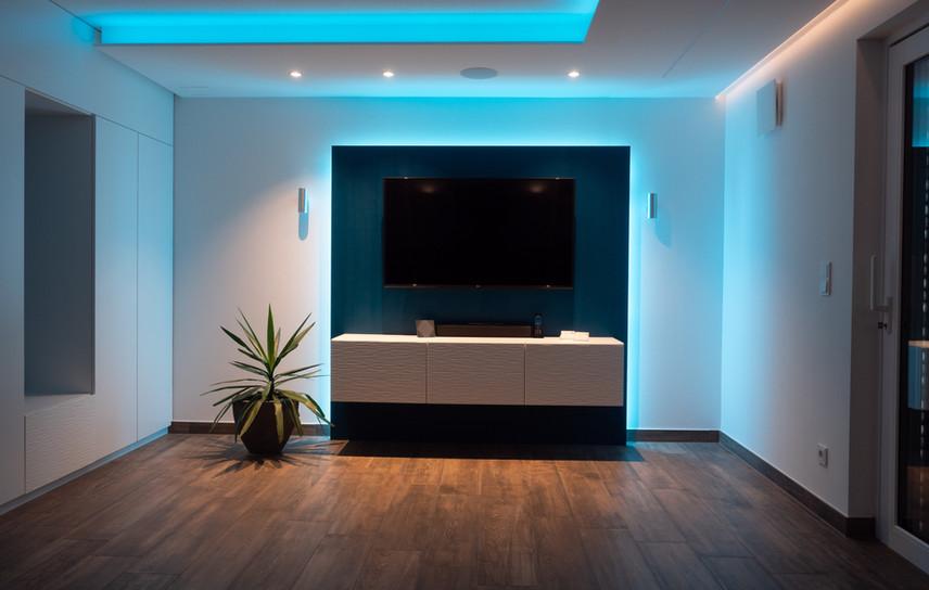 Lichtszenen im Smart Home