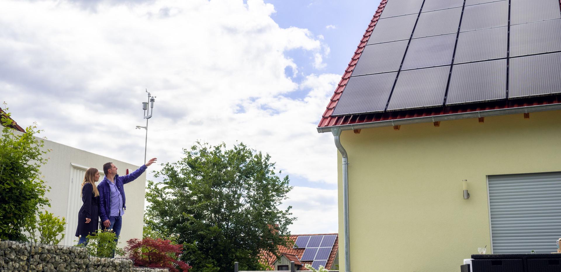 PV Anlage im Smart Home