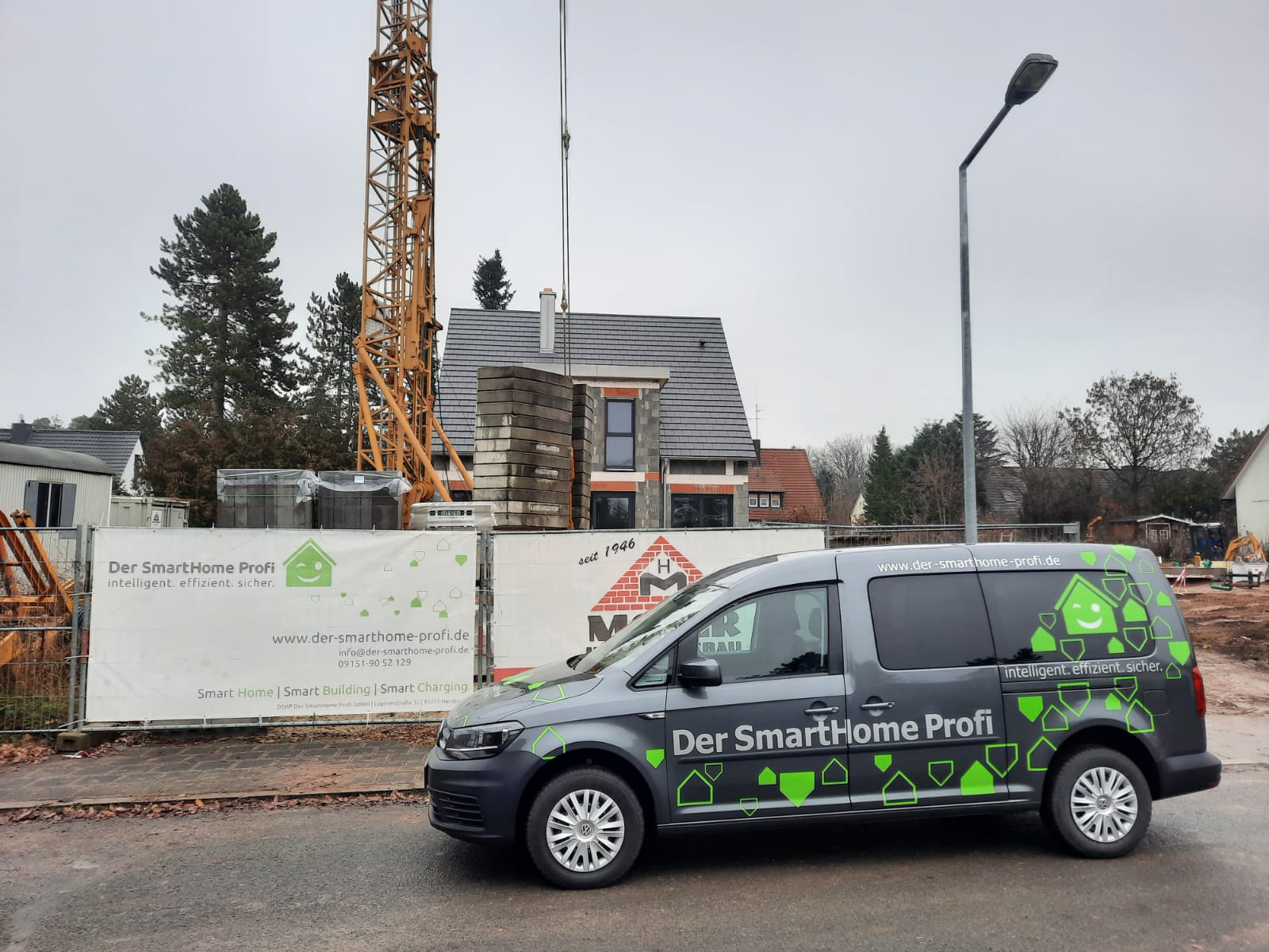 Smart Home Baustelle