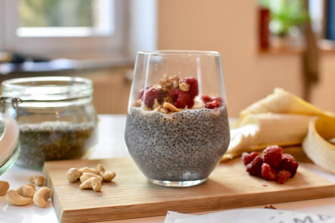 Perfect Monday Breakfast : Chia pudding