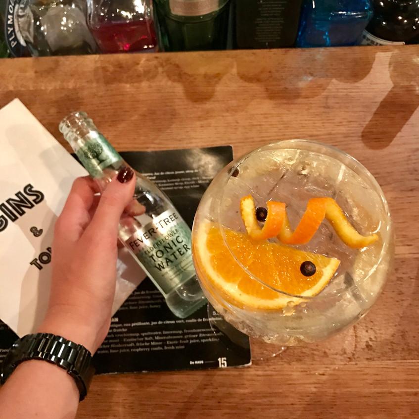 My gin & tonic