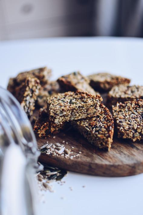 Vegan seed bar