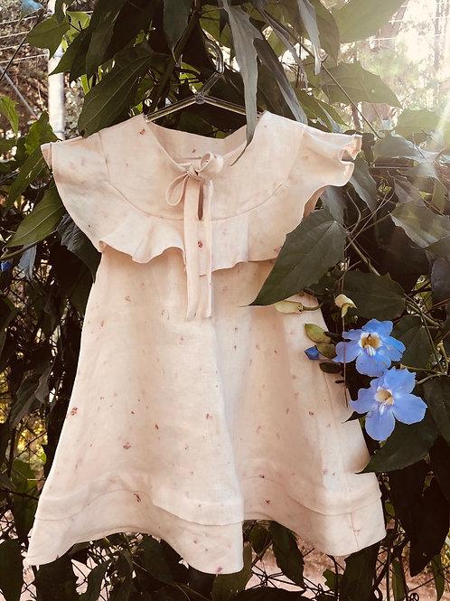 Vestido Mônaco Ecoprint