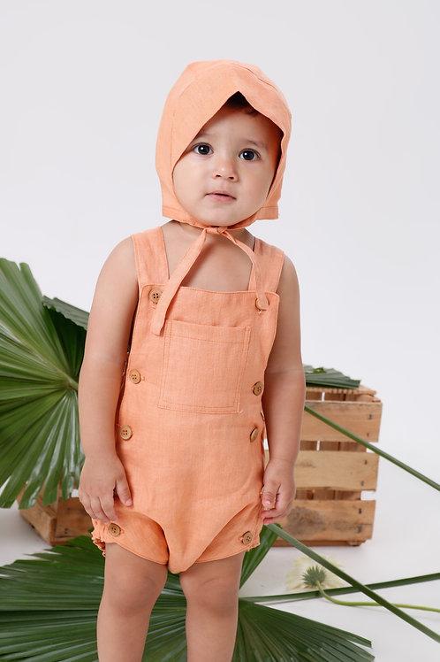 Jardineira Bebê Positano
