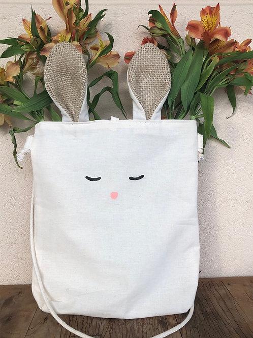 Ecobag coelhinho