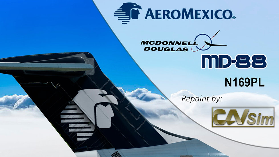 McDonnell Douglas MD-88 Aeromexico 'Last Livery' 'N169PL'