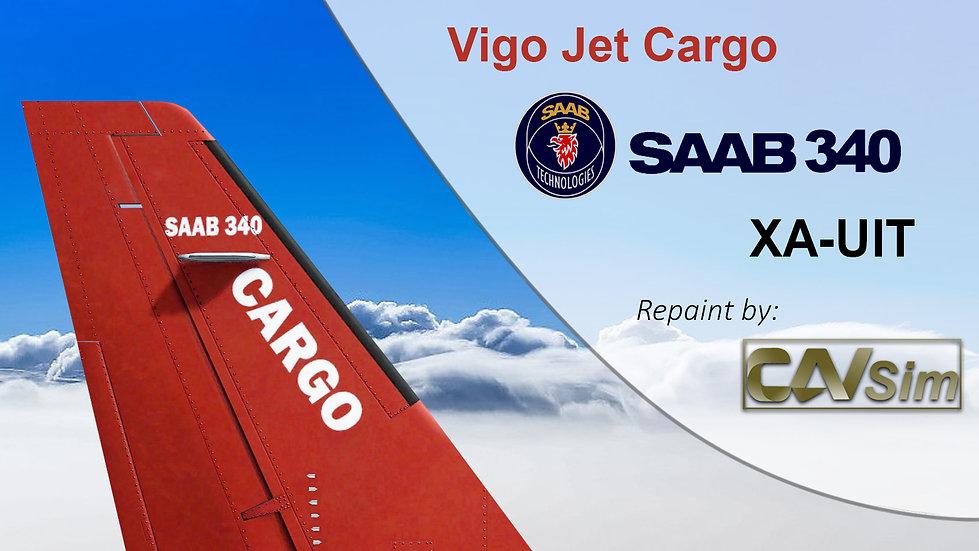 SAAB Aircraft AB SF-340A VigoJet SA de CV 'XA-UIT'