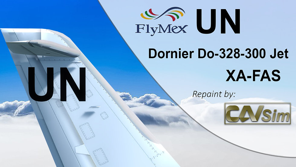 Fairchild Dornier 328-300JET FlyMex Integrated Aviation Services SA 'XA-FAS'